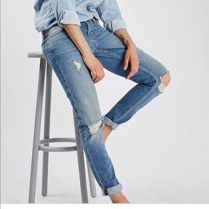 Topshop slim leg boyfriend jeans W26 L30